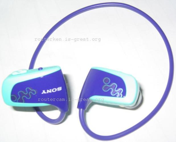 Sony Portable Music Player NWZ-W262