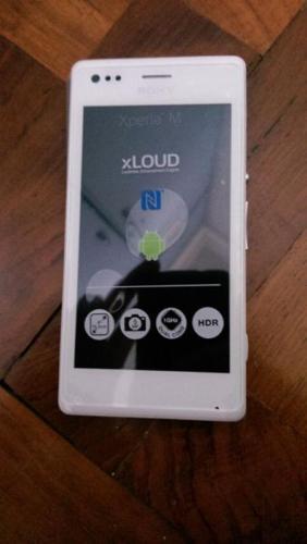 Sony Xperia M white brand new