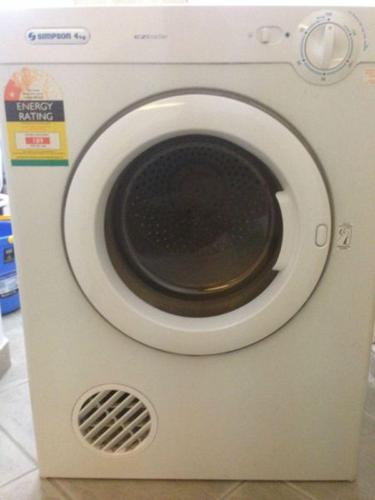 Sparingly Used 4 Kg Clothes Dryer