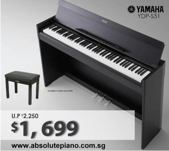 Special Deal! Yamaha YDP S51 at only $1,699 with free