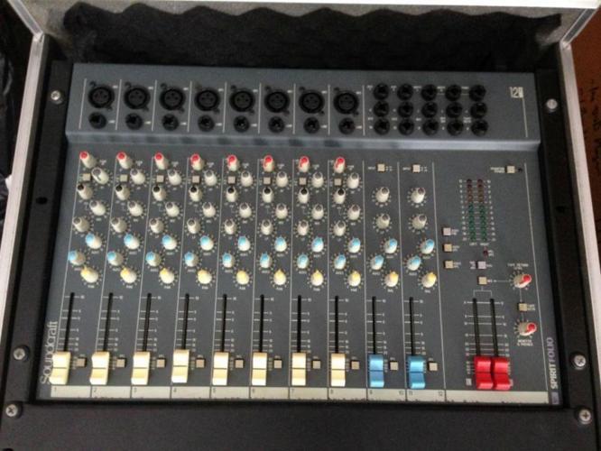 Spirit Folio Audio Mixer