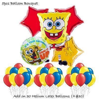 Spongebob Square pants Balloon Bouquet by Party