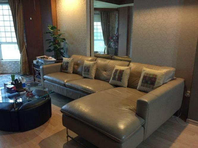 SPRING CLEANING SALE- LEATHER SOFA, TEAK TABLE & DINING