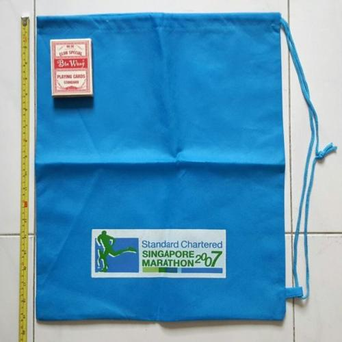 Standard Chartered Pullstring Bag (brand new)