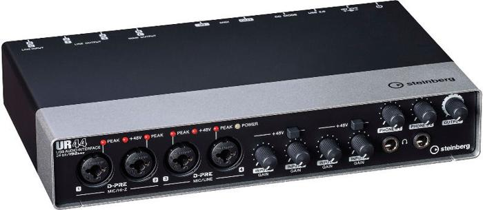Steinberg UR44 6x4 USB 2.0 audio interface (preorder)