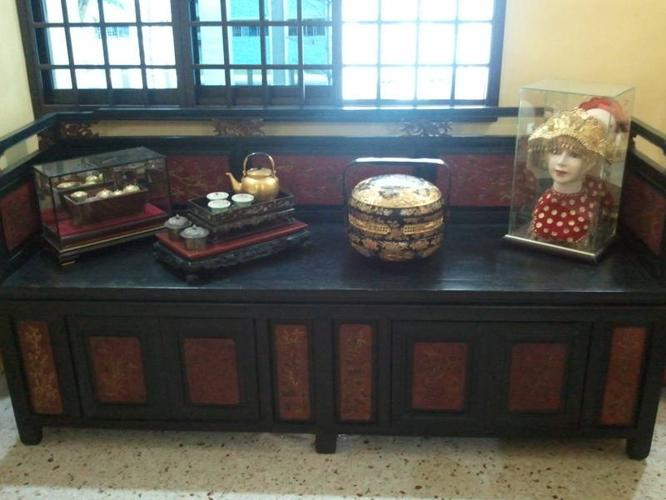 Straits Chinese Peranakan DayBed from an Estate