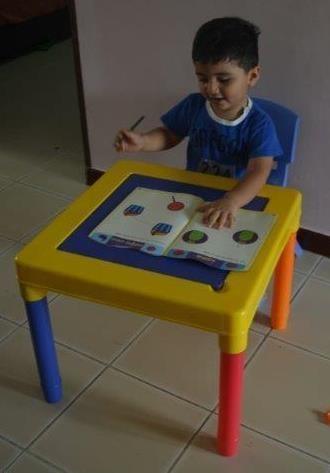 Study/Activity table chair set