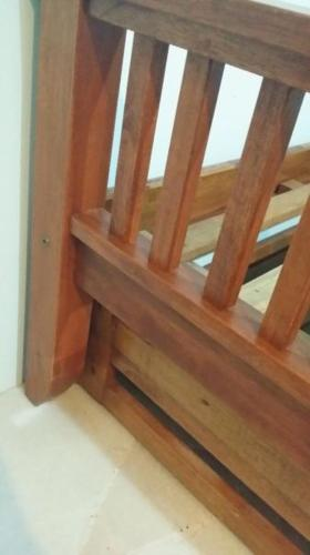 Sturdy Wooden Single Bed Frame