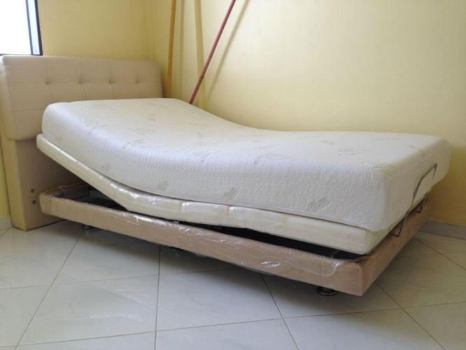 System 9 Adjustable Bed & Mattress --- 90% new...