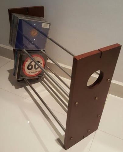 Table top CD & DVD Organiser Rack