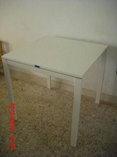 Tables, chairs & rack