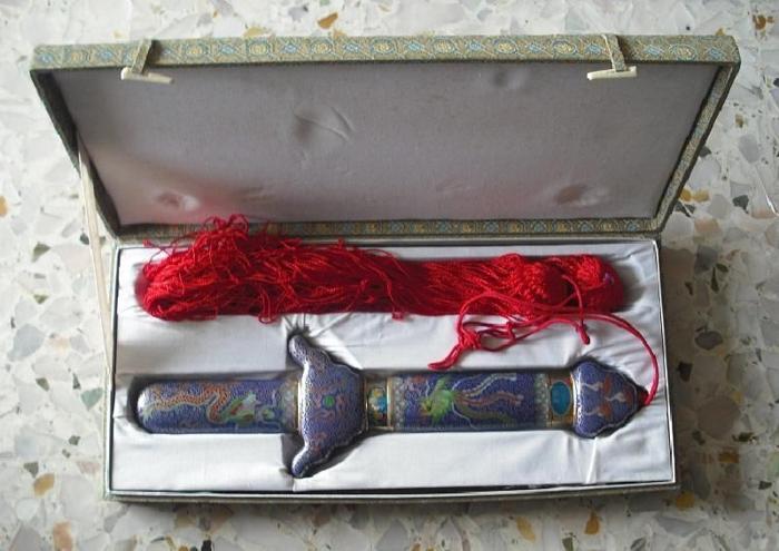 Tai Chi Folderable Sword (1pair)