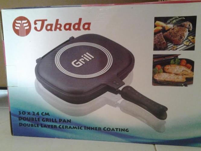 Takada Double Grill Pan TK-DGP02