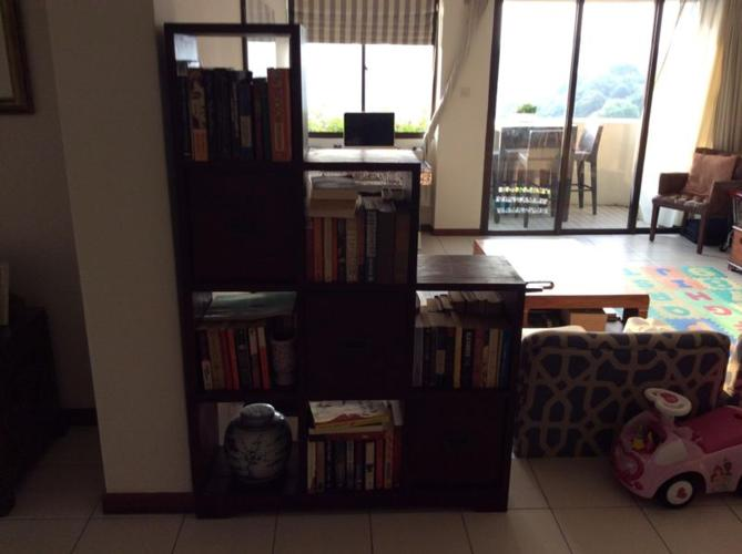 Teak bookcase for sale