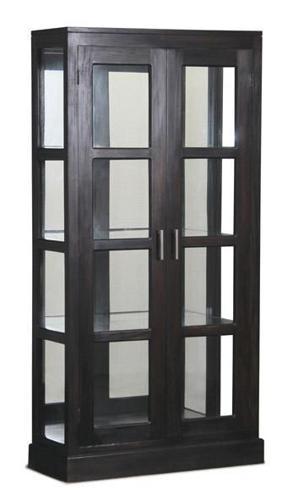 Teak Display Glass Cabinet Warehouse Price