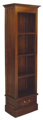 Teak Wood Singapore Bookcase Bookshelves Book Glass