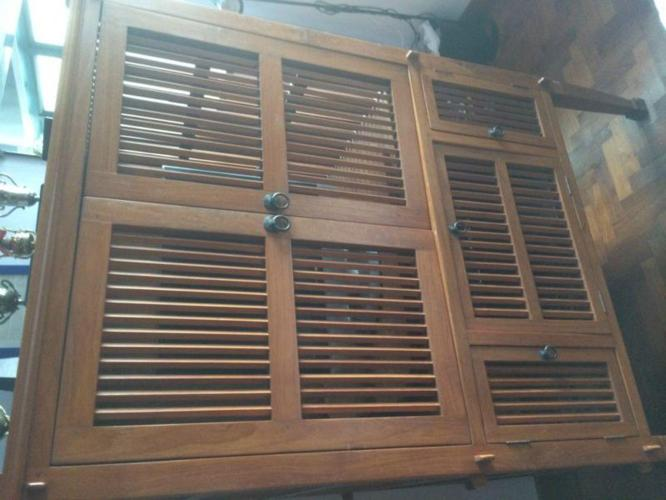 Television Console with nice Indonesian wood
