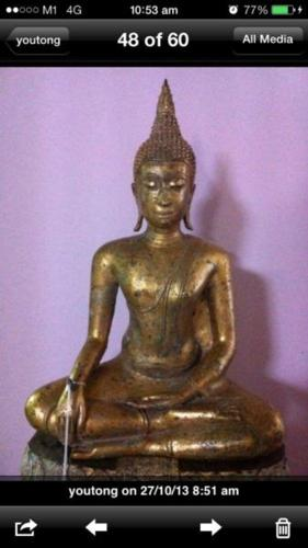 Thai bronze buddha for Sale in Hougang Avenue 8, Northeast Singapore
