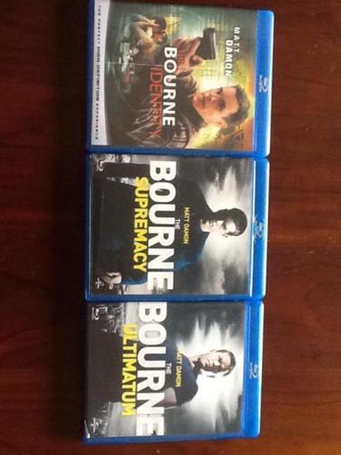 The Bourne trilogy - Original bluray for sale @