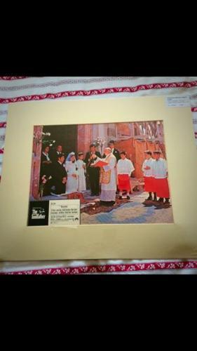 The Godfather - Vintage Lobby Card