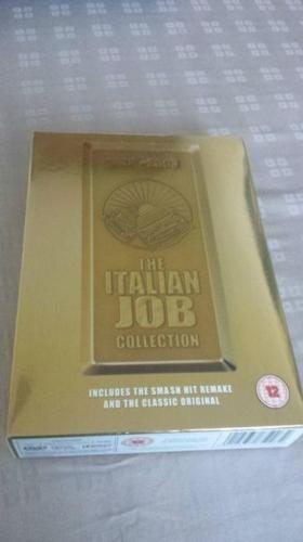 The Italian Job DVD Box Set - 1969 Original + 2003