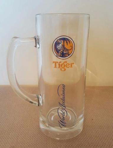 Tiger Beer Tall Mug Glass 380 ml