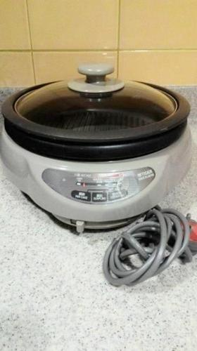Tiger Steamboat + Grill Pan Cooker