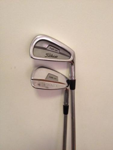 Titleist 735.CM irons, 3-PW, Project X 6.0