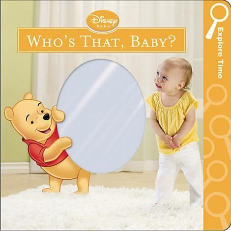 Toddler book - Who's That, Baby? Book - Winnie the Pooh