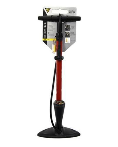 Topeak JoeBlow Max HP Floor Pump - Red