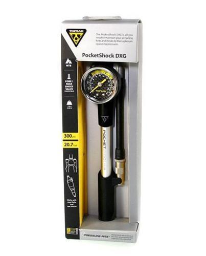 Topeak PocketShock DXG Shock Pump