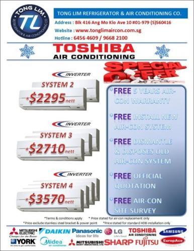 TOSHIBA INVERTER AIR-CON PROMOTION