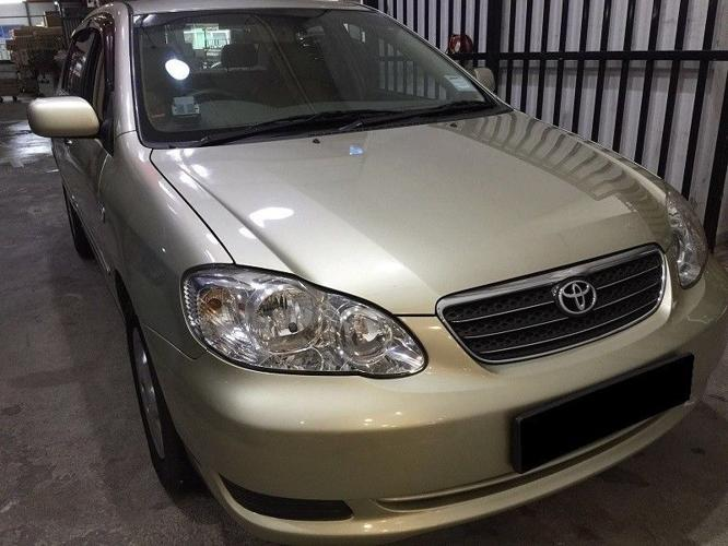 TOYOTA ALTIS $180 FROM 01/06/2018 - 04/06/2018 (P PLATE