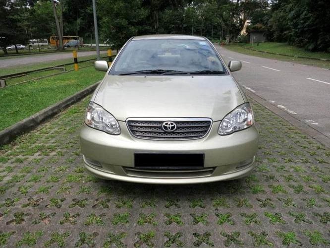 Toyota Altis 1.6A For Rent! Car Rental!