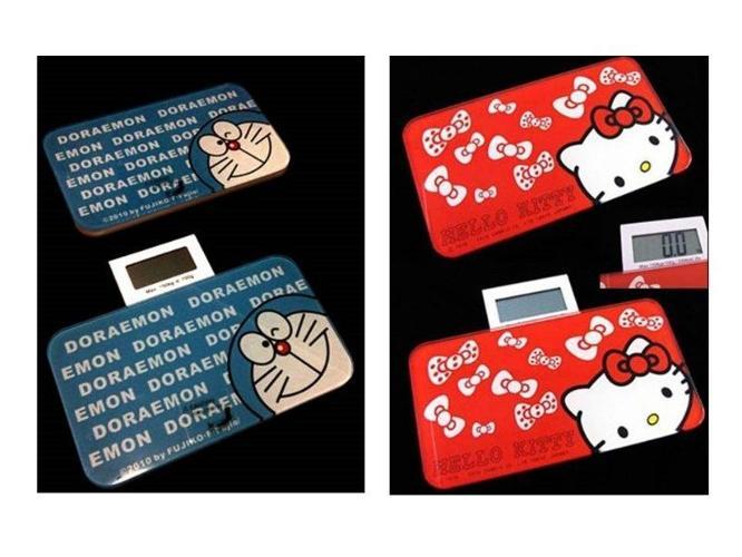 travel hello kitty/doraemon mini scales