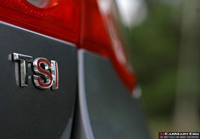 TSI Emblem logo Genuine European VW Volkswagen Audi TSI