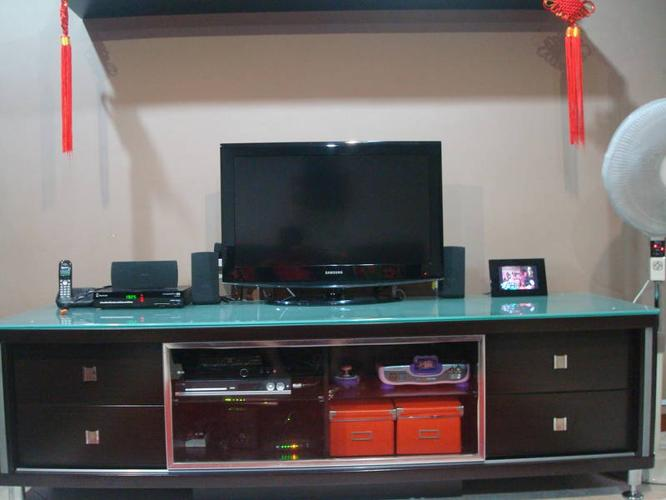 TV Console (House moving SALE), Good Condition