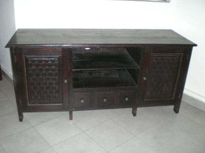 TV CONSOLE Teak Wood