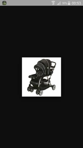 twin baby trolley