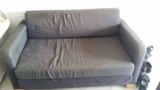 two ikea sofa