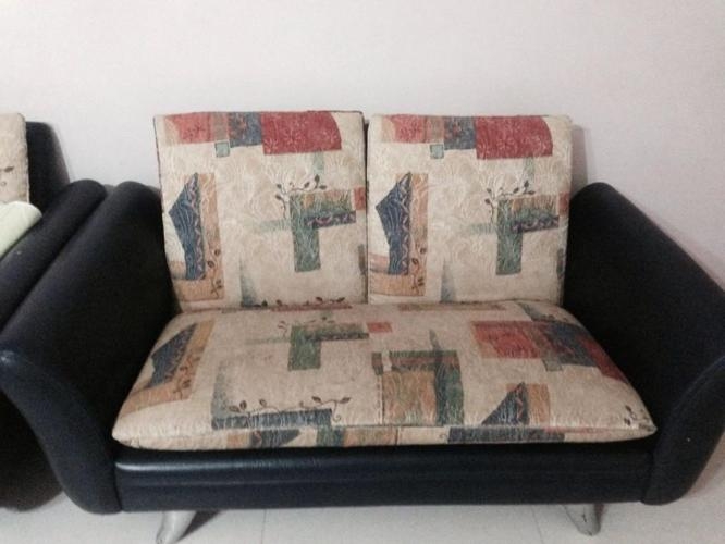 Two seater sofa for sale / free three seater sofa