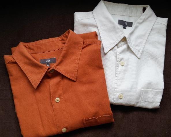 U2 short sleeve shirts