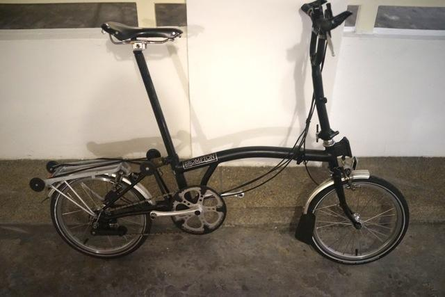 upgraded all black brompton m6r package for sale in kew crescent