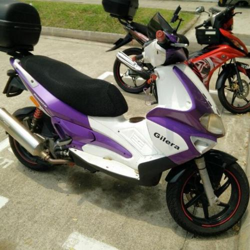 Upgraded Gilera VXR 200 for sale