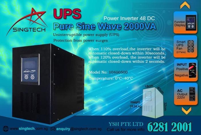 UPS Pure Sine Wave 2000VA