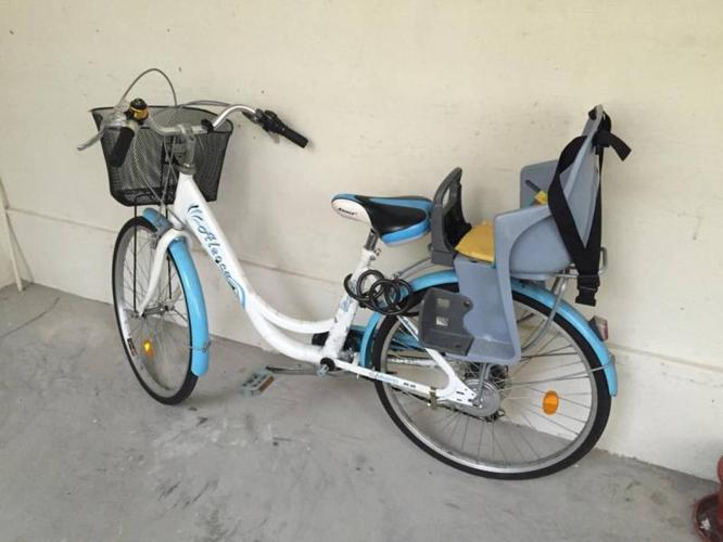 **URGENT*** Bicycle with Babysitter on sale $75.00