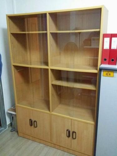 URGENT SALE!! Glass Display Cabinet - USED