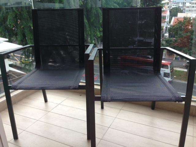URGENT stylish outdoor chairs for sale