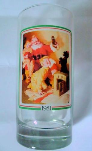 US 1981 Coca Cola Glass Tumbler
