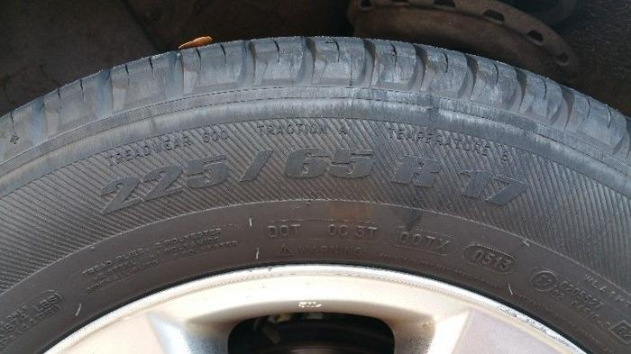 USED Harrier tyre 235 55 17